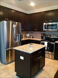 kitchen kitchen colors with light wood cabinets dark brown