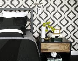 wohnideen schlafzimmertapete schlafzimmer schwarz 31 beispiele dass schwarze schlafzimmer
