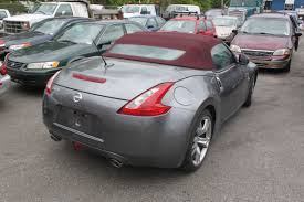 nissan coupe 2011 2011 grey nissan 370z convertible 2dr coupe