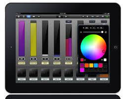 dmx light control software for ipad ipad luminaire entecc control