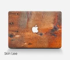 wood mac decal mac sticker mac book pro case mac book air case