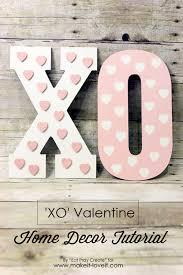 valentines home decorations xo u0027 valentine home decor tutorial make it and love it