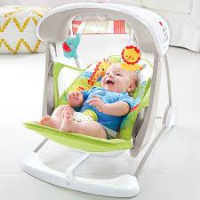 Newborn Swing Chair Fisher Price Rainforest Friends Take Along Swing U0026 Seat Toys R Us