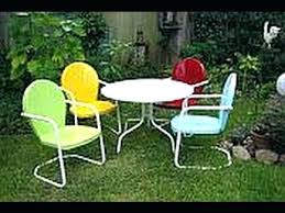 Retro Patio Furniture Sets Retro Porch Furniture Outdoor Retro Chair Chair Or Motel Chair