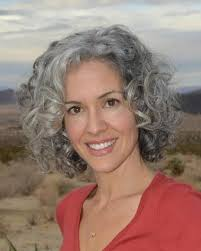 curly hair in 40th year old women best 25 grey curly hair ideas on pinterest why grey hair is