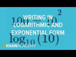 relationship between exponentials u0026 logarithms video khan academy