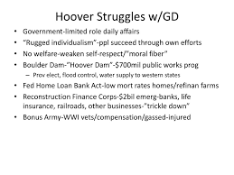 Hoover Flag Warm Up What Was The Great Depression Ppt Download