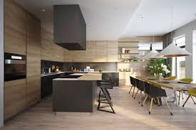 Kitchen Set Design by Open Plan Kitchen Designs With Trendy And Remarkable Decor