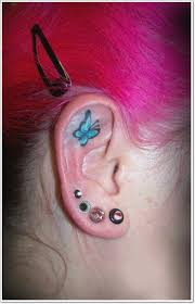 ear butterfly style for trend