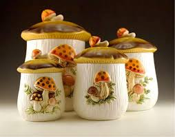 vintage kitchen canister vintage ceramic kitchen canister sets outofhome