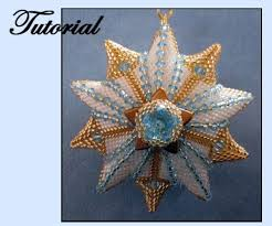 beaded ornament pattern bead patterns beaded