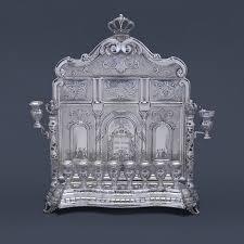 large menorah hordus silver wall menorah large hazorfim