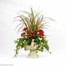 home decoration vintage artificial floral arrangements with
