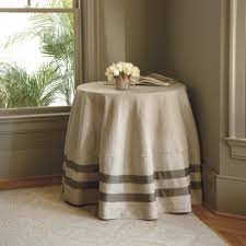 Round Kitchen Table Cloth by Ribbon Round Tablecloth Ballard Designs Details Pinterest