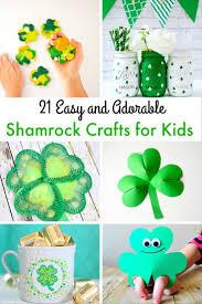shamrock crafts for kids to make for st patrick u0027s day