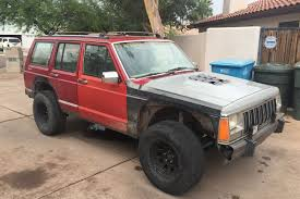 monster jeep cherokee the story of my 1992 jeep xj cherokee dust runners automotive