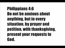 daily bible verse and what it means philippians 4 6