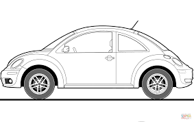 volkswagen beetle colors 2016 volkswagen beetle 2009 coloring page free printable coloring pages