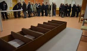 le bureau vierzon cache cache et file d attente dans les bureaux de vote au 1er tour