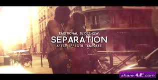 separation after effects project videohive free after