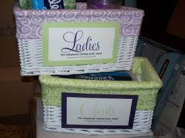 wedding bathroom basket ideas wedding bathroom basket sign my web value