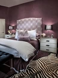 Zebra Bedroom Decorating Ideas Contemporary Purple Bedroom Decorating Ideas With Zebra Print Rug