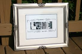 House Warming Wedding Gift Idea Personalized Wedding Alphabet Letter Photography Print Nikki