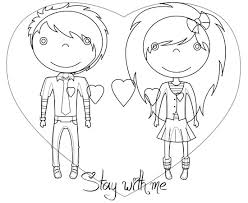 cartoon love couple to draw free download clip art free clip