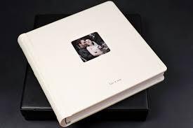 renaissance photo albums 12x12 soho book featuring luxurious white gramercy leather
