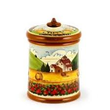 italian canisters kitchen toscana four pieces canister set farina peperoncino zucchero