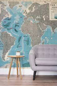mural ancient old world map pencil sketch vintage background