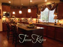 Tuscan Style Fancy Decorating Above Kitchen Cabinets Tuscan Style 49 For Your