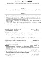 Sample Event Planner Resume Objective by Event Planner Resume