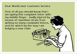 sample letters diary of a workcover victima workcover victims diary