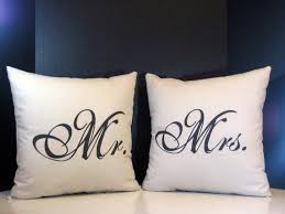 mr and mrs pillow etsy find mr mrs pillows