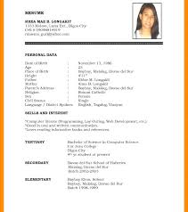 resume format doc resume format doc images about for marriage sles sle