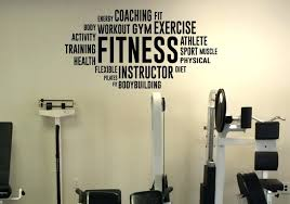 home gym decorations wall decor outstanding home gym wall decor pictures wall