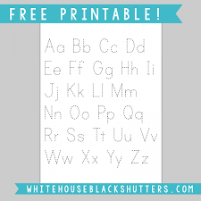 letters to print and trace letter tracing sheet printable white house black shutters