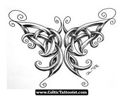 butterfly celtic tattoos search tattoos
