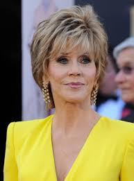 bing hairstyles for women over 60 jane fonda with shag haircut more pics of jane fonda layered razor cut short hairstyle