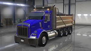 kenworth t800 dump truck kenworth t800 update american truck simulator mods