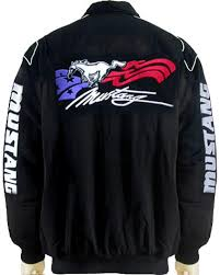 mustang shirts and jackets mjfd702 ford mustang gt black jacket top quality m xxxl car
