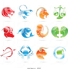 zodiac clipart astrological sign pencil and in color zodiac