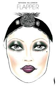 this was my main inspiration for make up flappers have really dark make up and plumy dark lips thin sad looking eyebrows and a lot of blusher