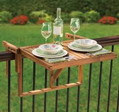 balcony railing table amazing ideas 4 folding balcony railing