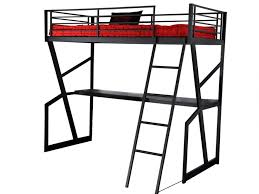 lit mezzanine avec bureau intégré lit mezzanine 90x190cm bureau option matelas