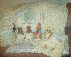 beatrix potter rabbit nursery 12 pc beatrix potter rabbit unisex crib baby bedding set for