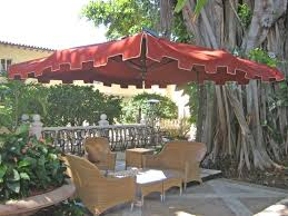 furniture offset patio umbrella with led lights 9 ft patio