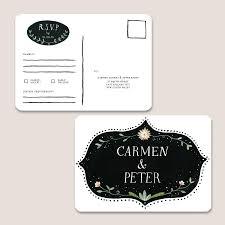 Invitation Card Dimensions Romantic Botanical Response Card Printable Paper Pinwheel