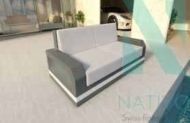canap lounge canapé lounge mesia 2 places v2 nativo mobilier design